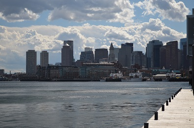 Boston from breakwater