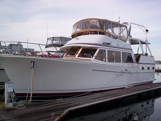 Green Turtle 2 port bow